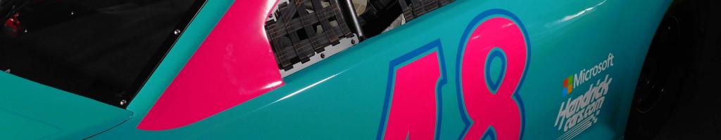 Alex Bowman to run seafoam green/pink NASCAR throwback at Darlington Raceway