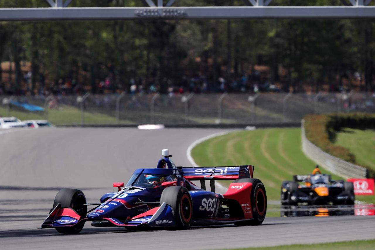 Alex Palou - Barber Motorsports Park - Indycar Series
