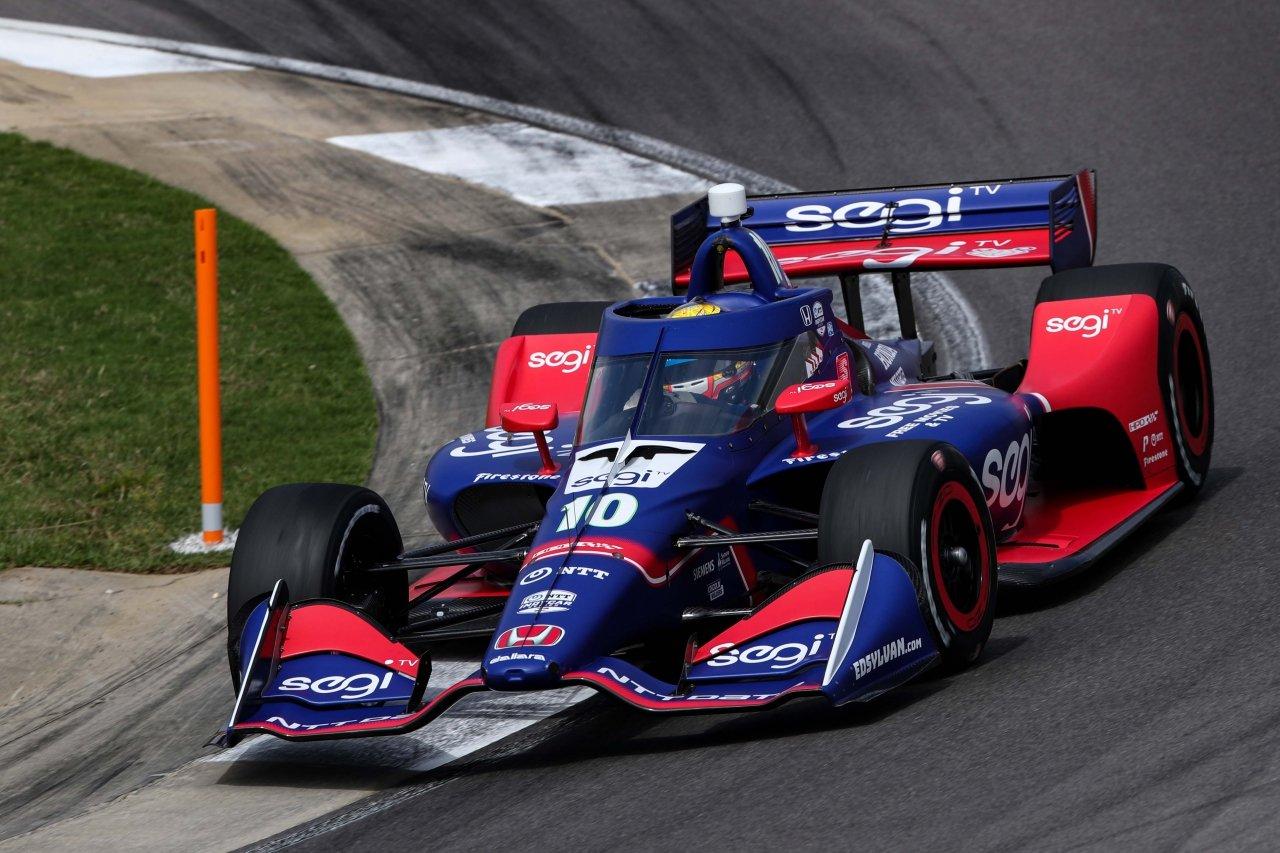 Alex Palou - Indycar Series - Barber Motorsports Park