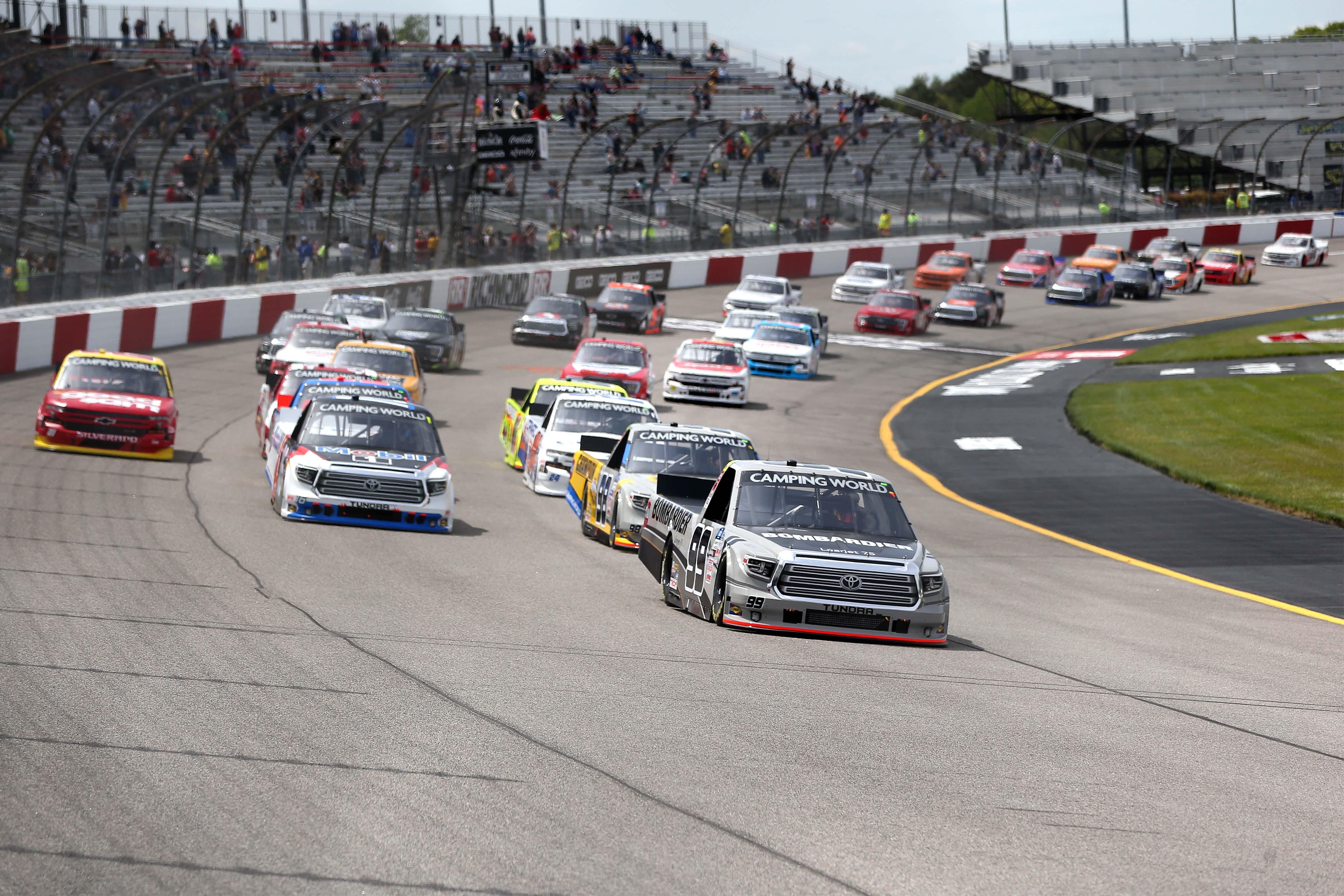 Ben Rhodes - Richmond Raceway - NASCAR Truck Series 2