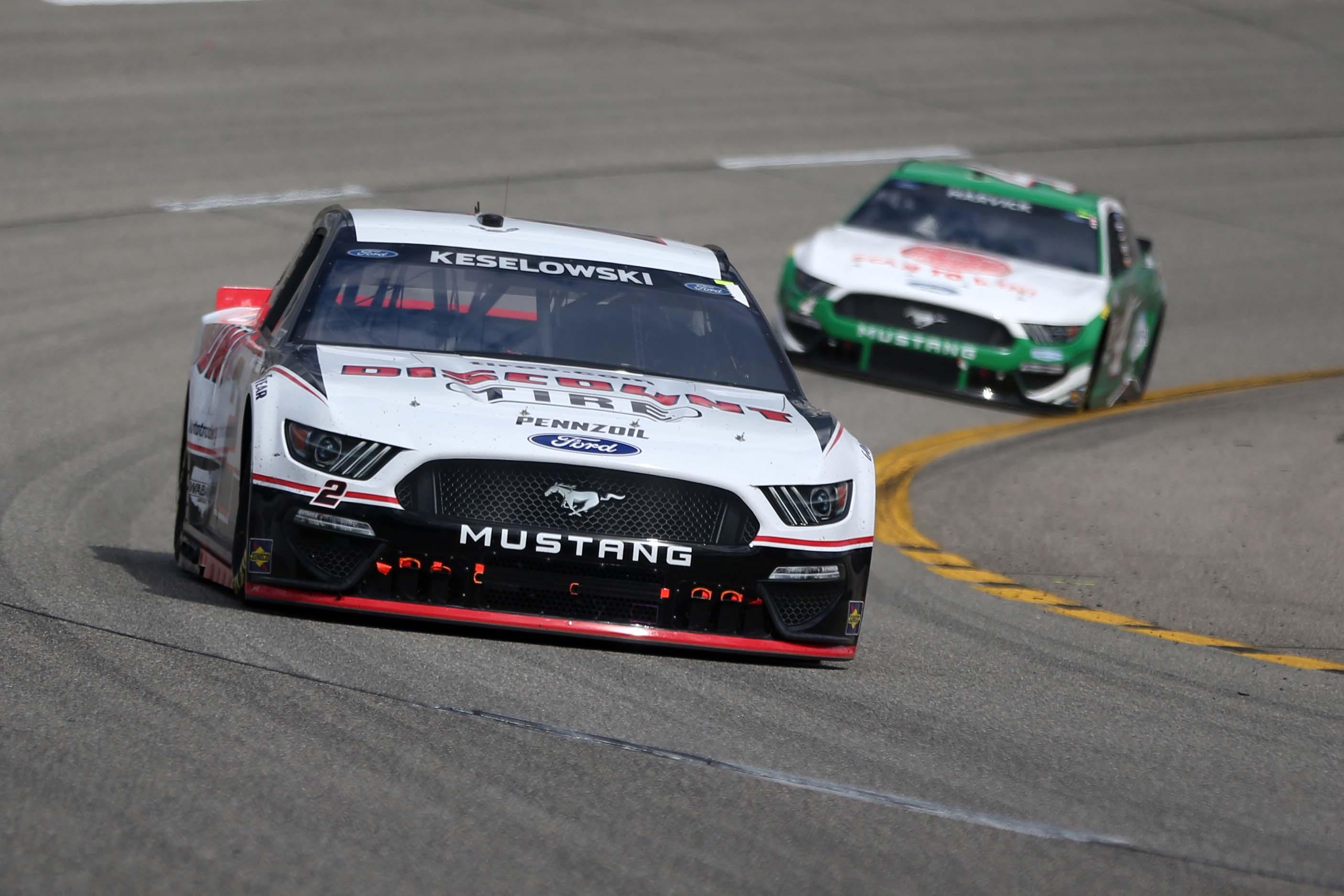 Brad Keselowski - NASCAR Cup Series - Richmond Raceway
