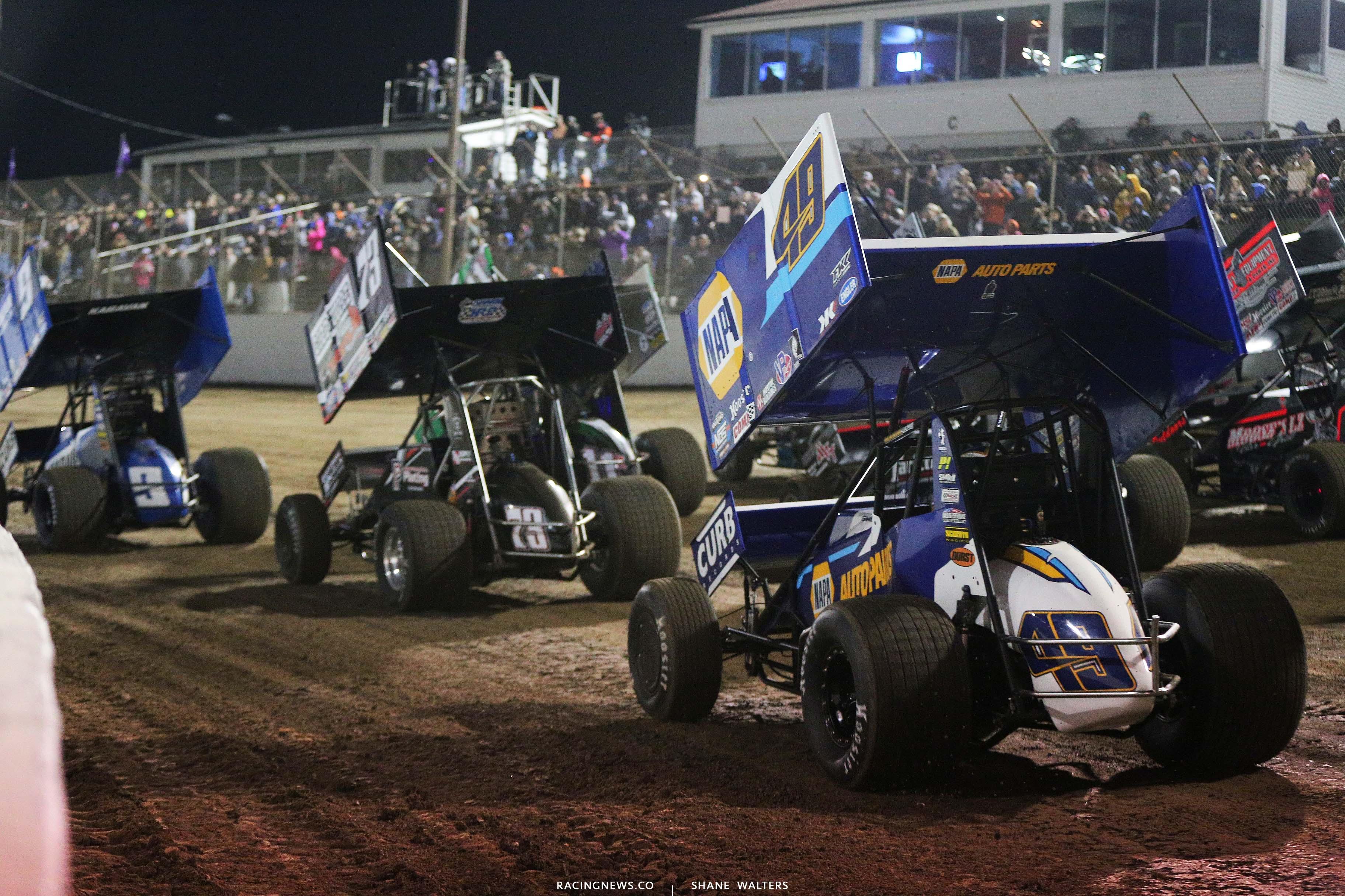 Brad Sweet at I-55 Raceway - World of Outlaws Sprint Car Series 3130