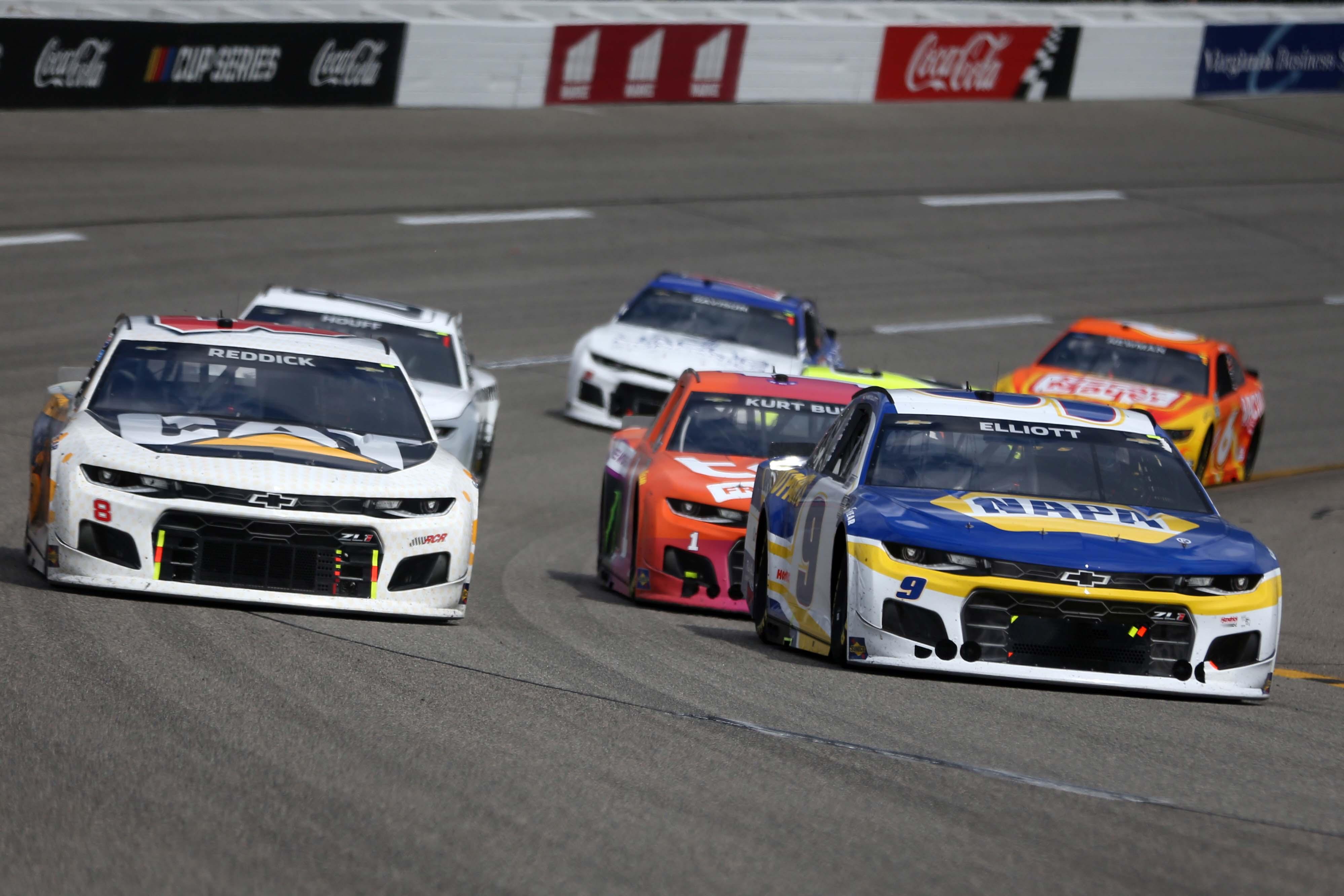 Chase Elliott, Tyler Reddick - NASCAR Cup Series - Richmond Raceway