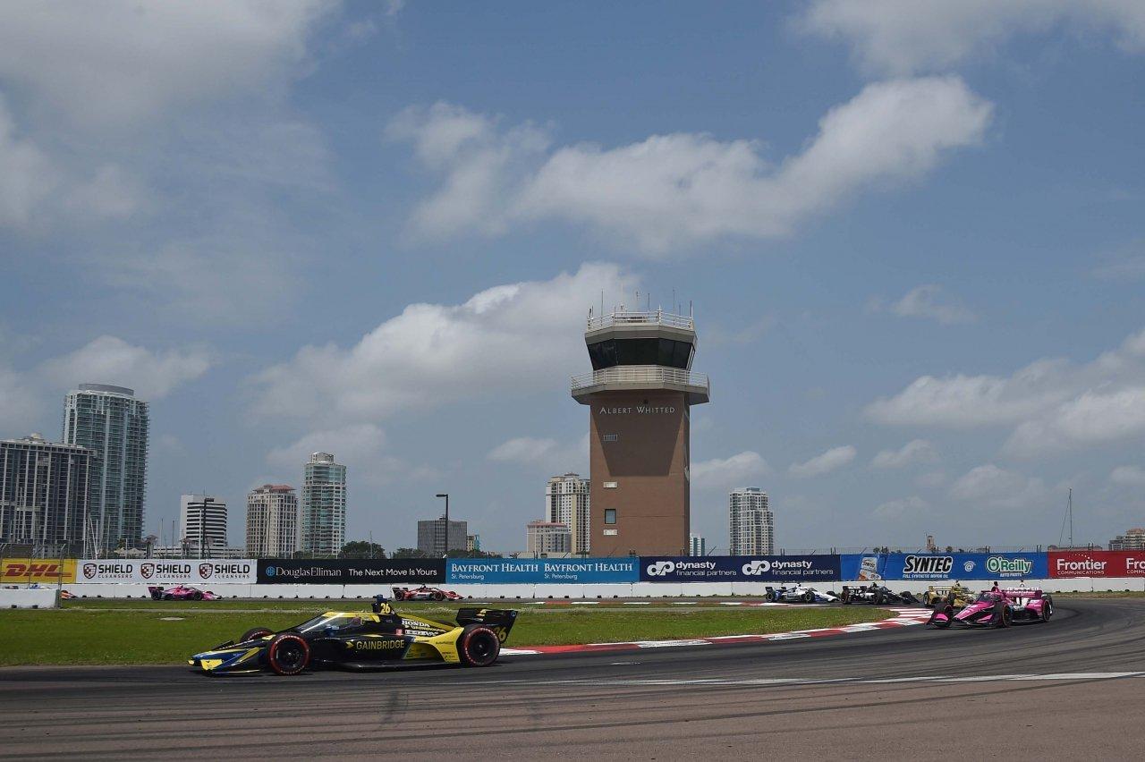 Colton Herta, Jack Harvey - St Petersburg Grand Prix - Indycar Series 2