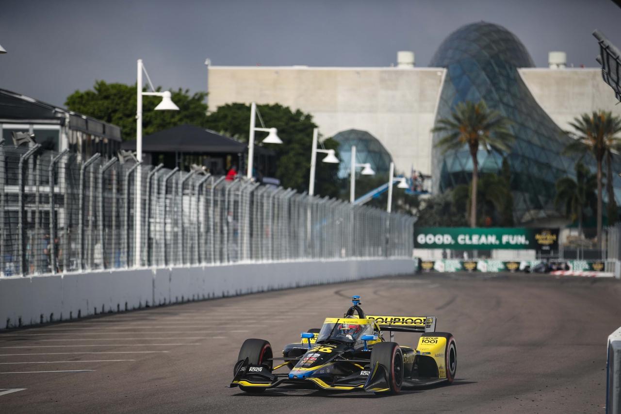 Colton Herta - St Petersburg Grand Prix - Indycar Series 2
