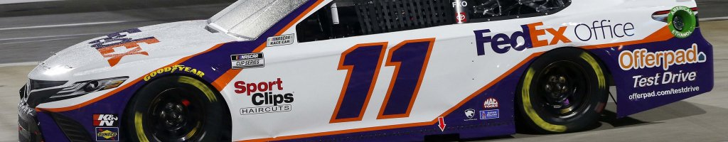 Denny Hamlin, Chase Briscoe trade comments after Texas Motor Speedway incident