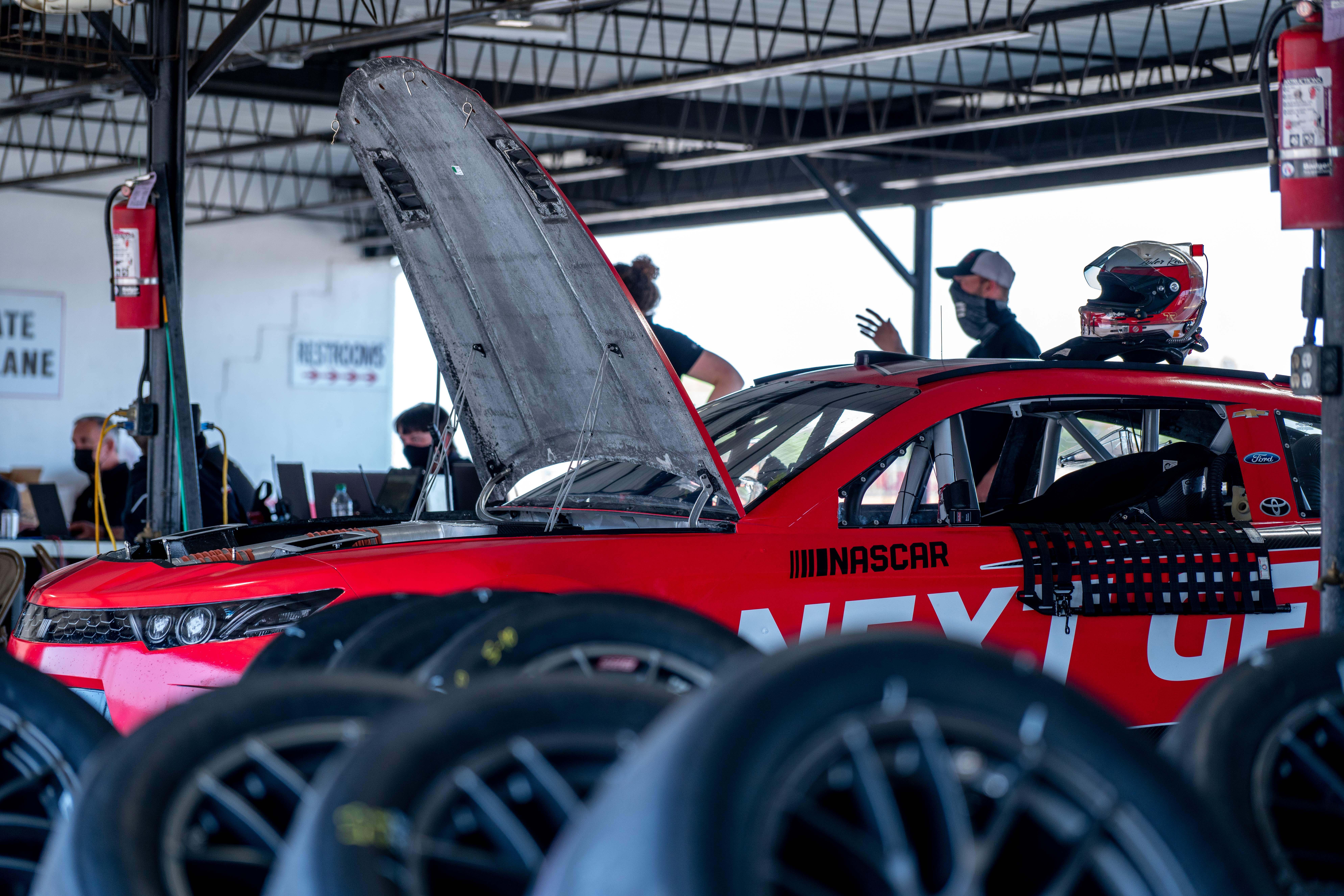 Garage - NASCAR Next Gen chassis Photos