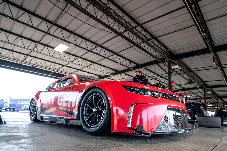 Garage photos - NASCAR Next Gen chassis