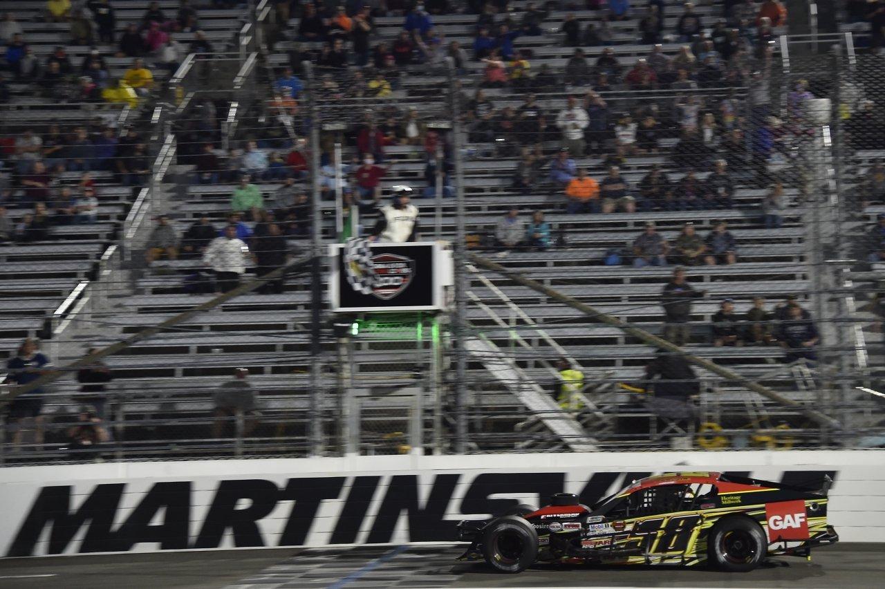 Eric Goodale wins at Martinsville Speedway