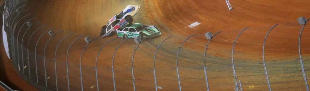 Wild Bristol Dirt crash for Kyle Strickler (Photos)