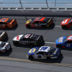 Joey Logano, Kevin Harvick, Denny Hamlin, Cole Custer, Martin Truex Jr, Chase Elliott, Bubba Wallace, Ricky Stenhouse Jr - Talladega Superspeedway - NASCAR Cup Series