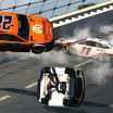 Joey Logano crash - eNASCAR iRacing Pro Invitational - Talladega Superspeedway