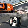 Joey Logano crash - eNASCAR iRacing Pro Invitational - Talladega Superspeedway