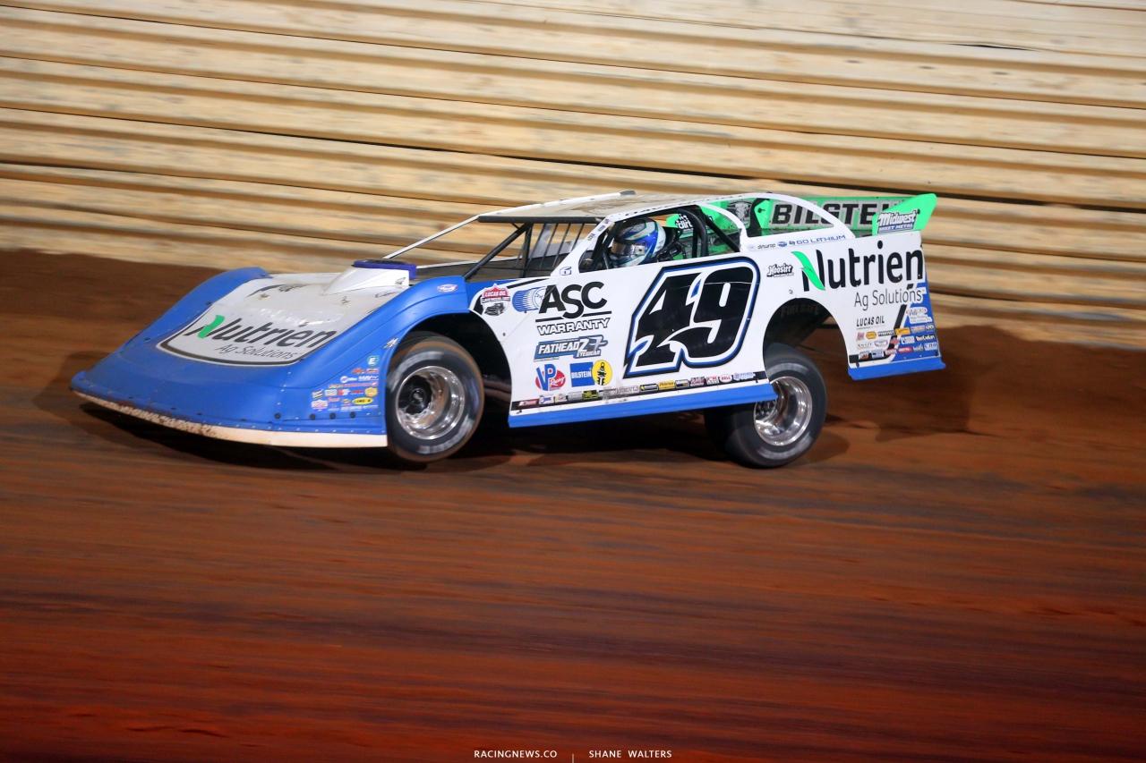 Jonathan Davenport at Port Royal Speedway - Dirt Track Racing - LOLMDS 4950