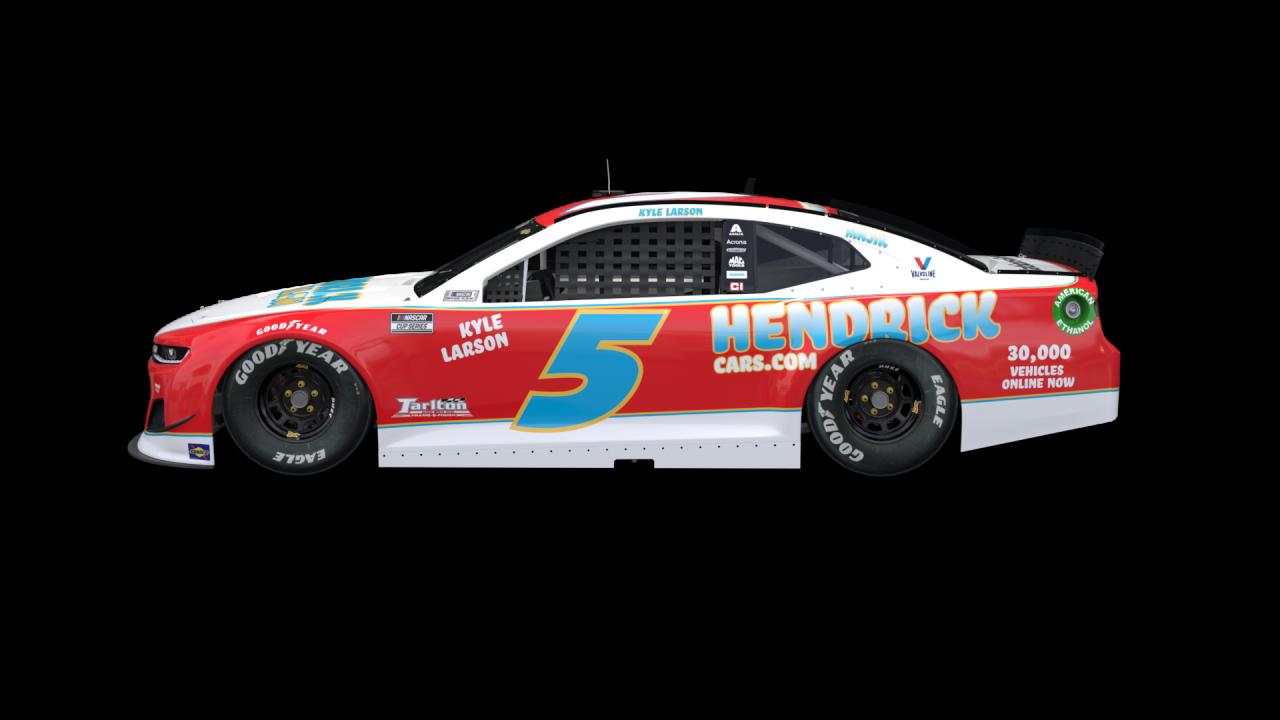 Kyle Larson - 2021 Darlington Raceway throwback