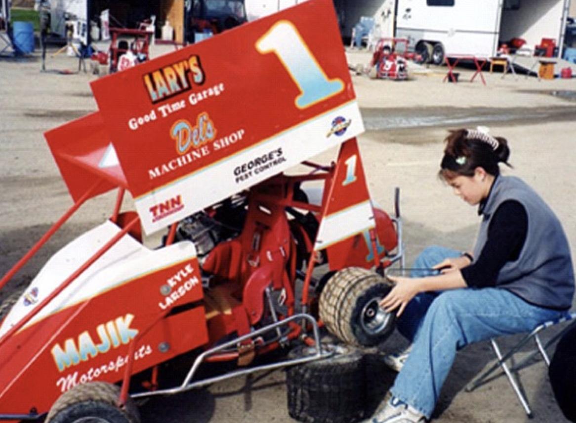 Kyle Larson - Go Kart Racing