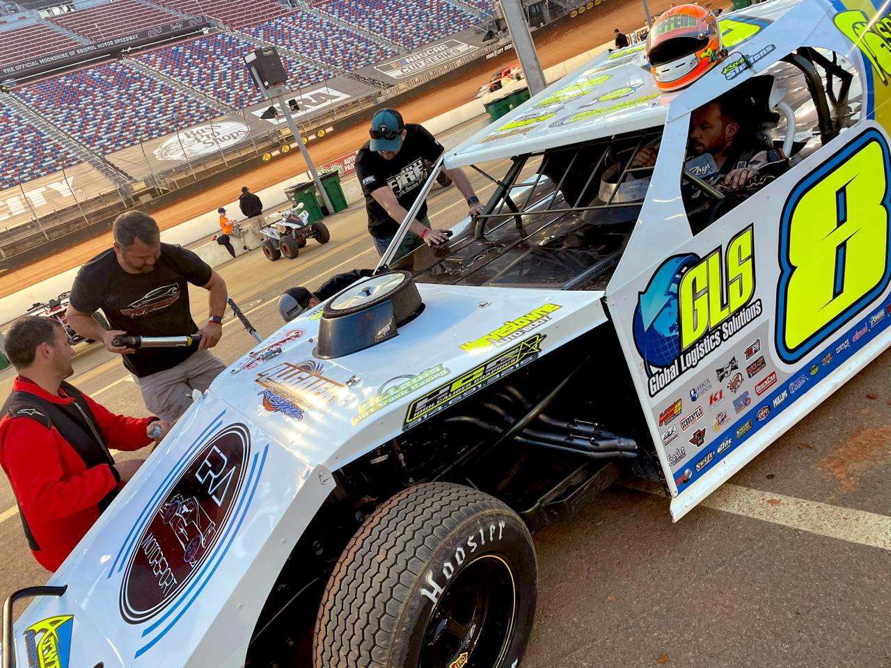 Kyle Steffens - DIRTcar UMP Modified - Bristol Motor Speedway dirt track