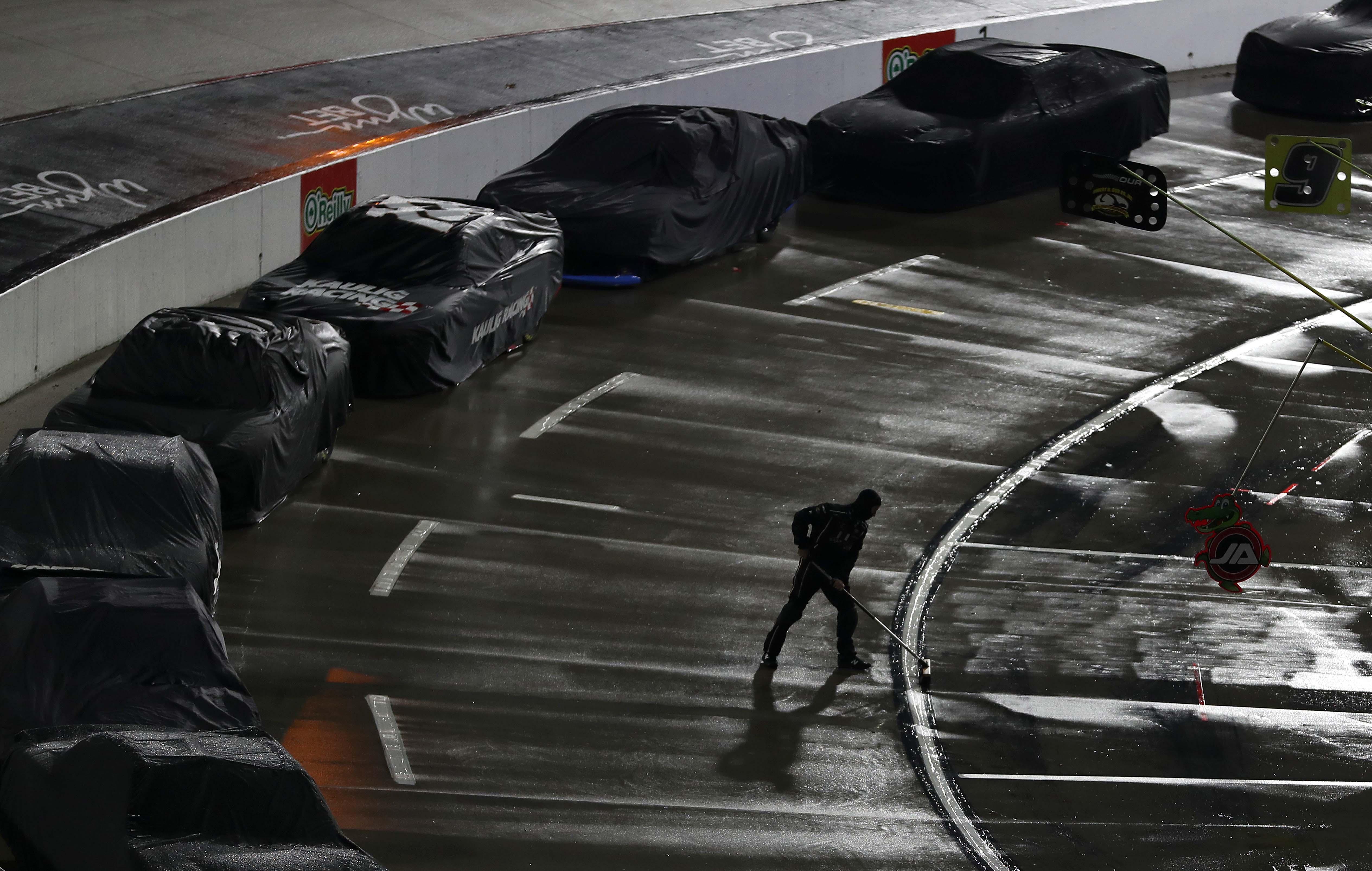 Martinsville Speedway Rain