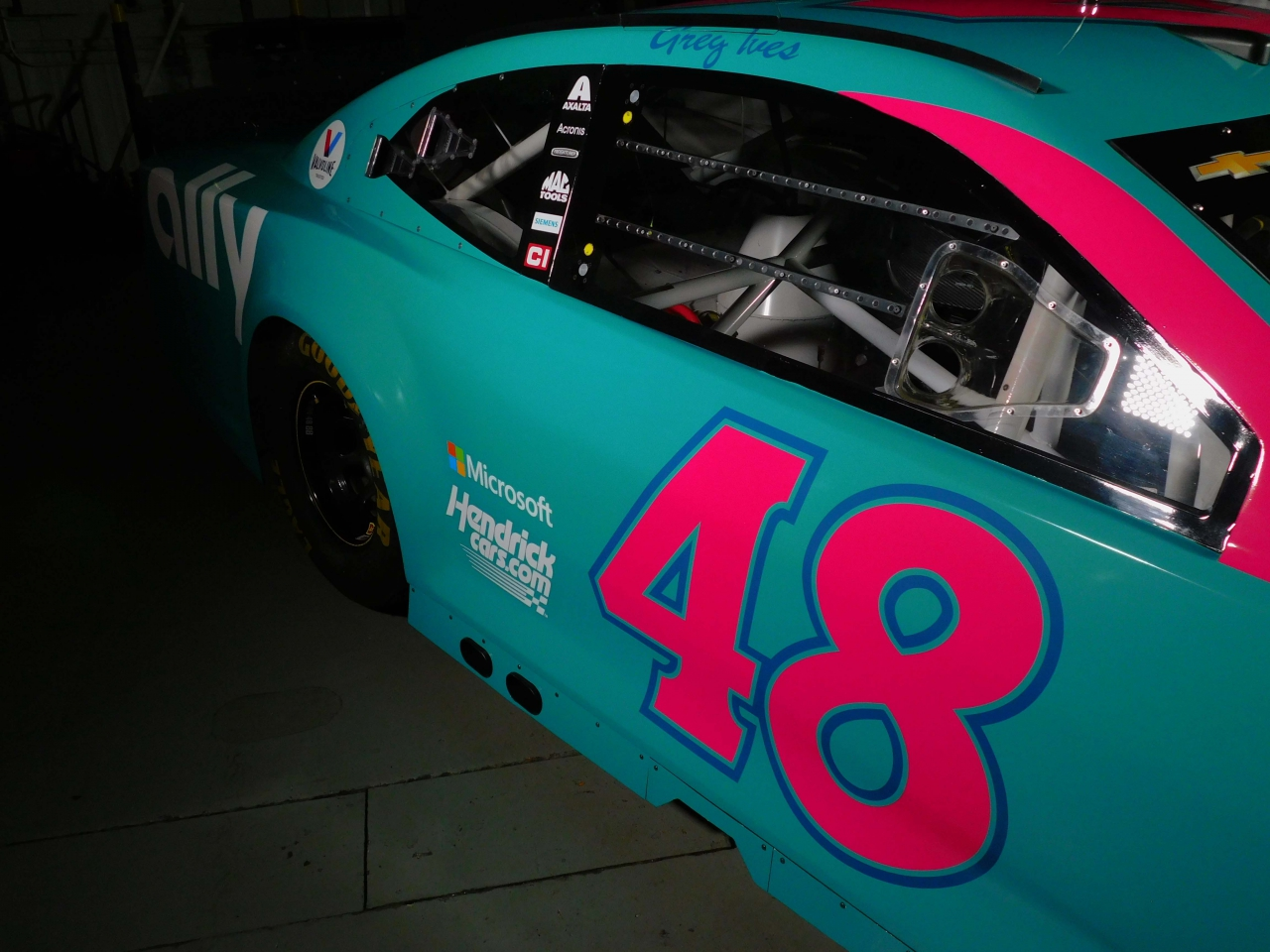 NASCAR Cup Series - Alex Bowman - 2021 Darlington Raceway throwback to Greg Ives