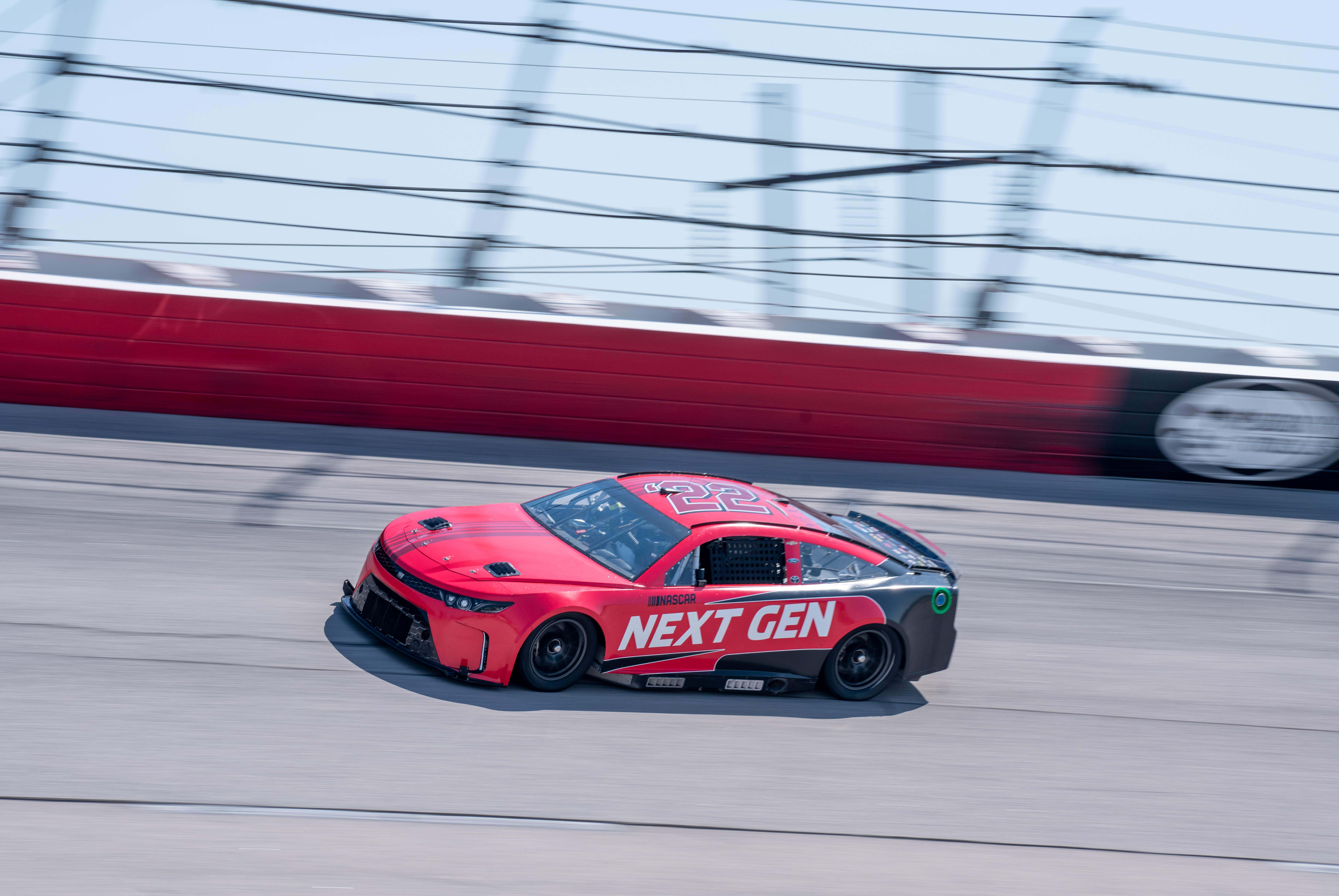 NASCAR Next Gen car photos - Darlington Raceway