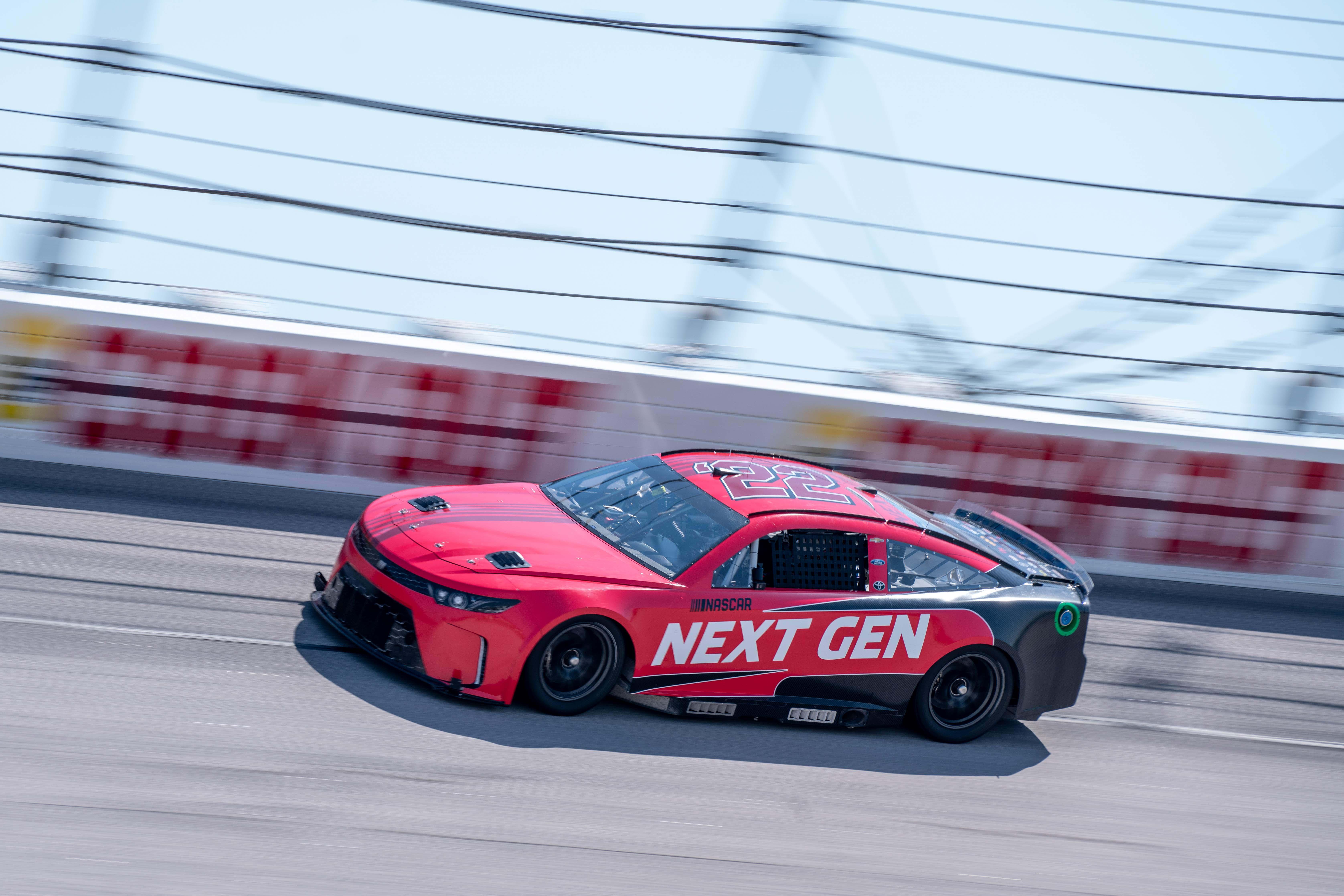 NASCAR Next Gen race car photos