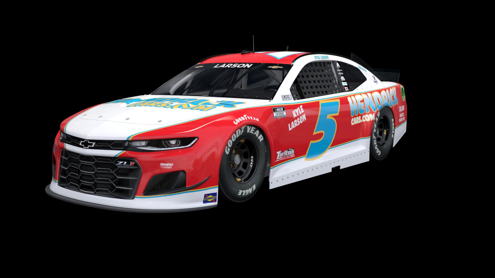 NASCAR Throwback - Kyle Larson - 2021 Darlington Raceway throwback
