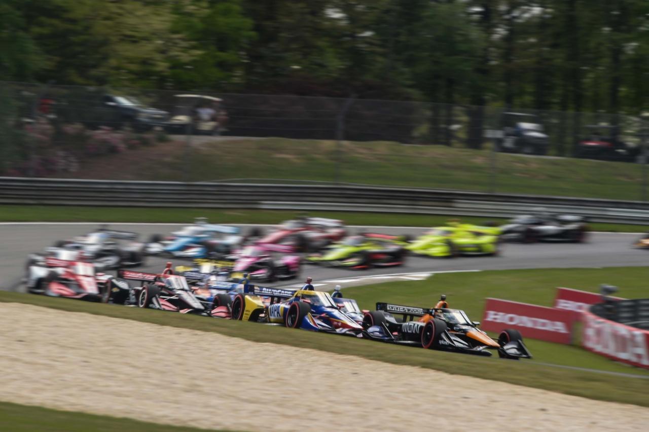 Pato O'Ward and Alexander Rossi - Barber Motorsports Park - Indycar Series