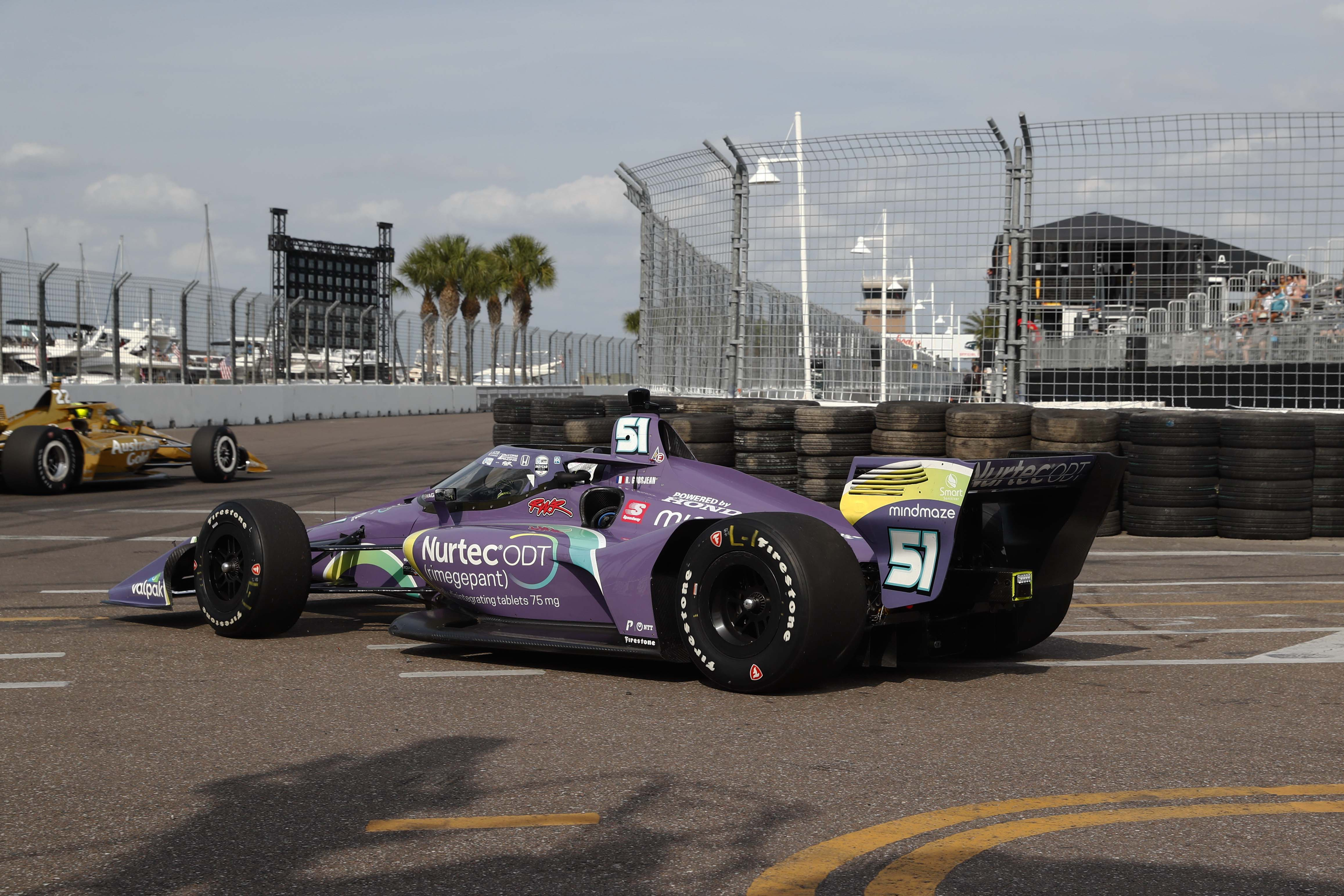 Romain Grosjean - St Petersburg Grand Prix - Indycar Series
