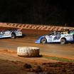 Tim McCreadie, Jonathan Davenport and Mike Marlar at Ponderosa Speedway - Lucas Oil Late Model Dirt Series - Dirt Late Model Racing 5247
