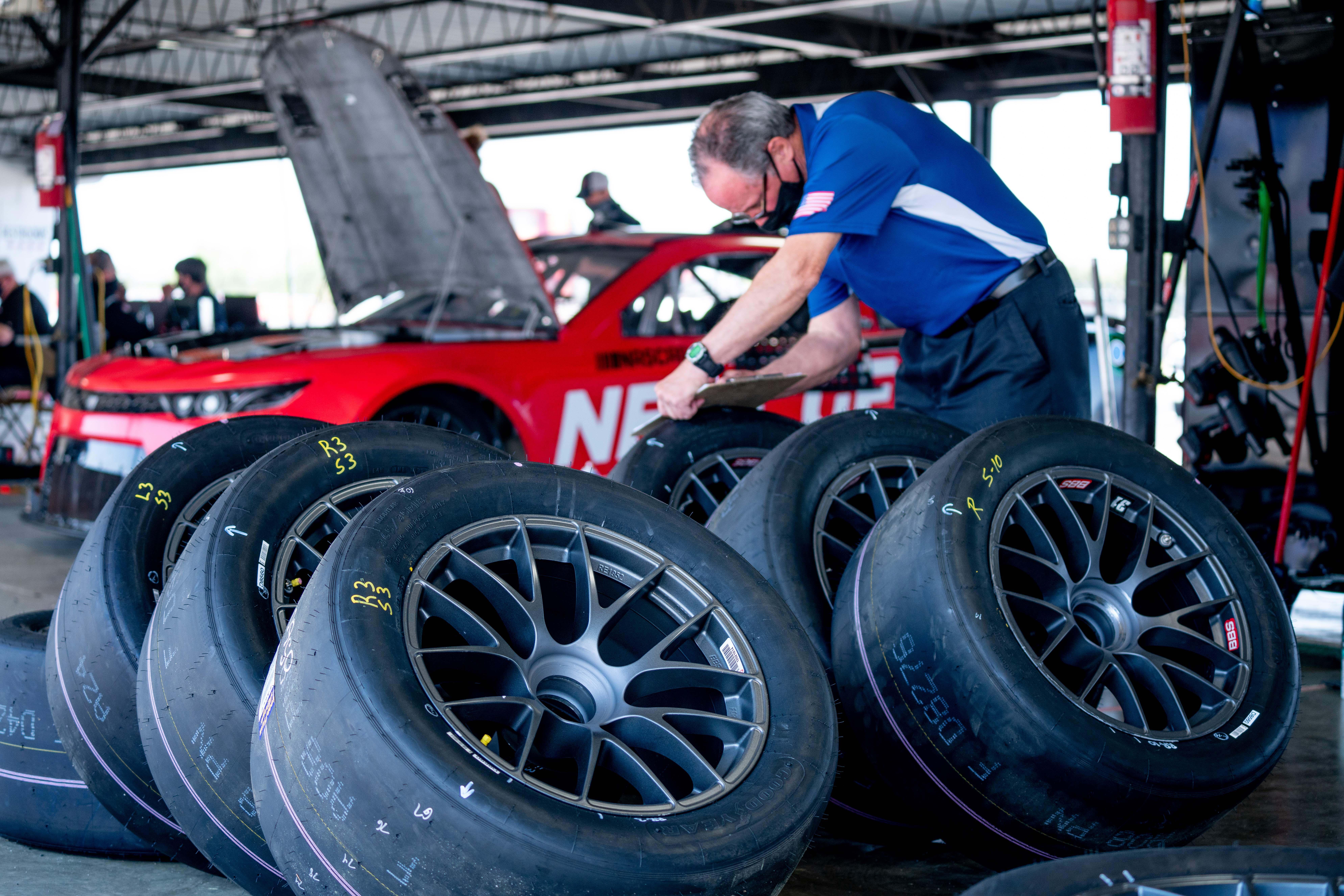 Tires for NASCAR Next Gen car