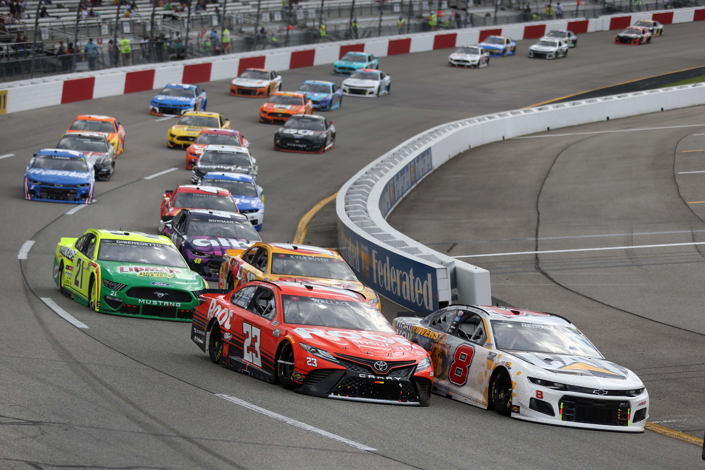 Tyler Reddick, Bubba Wallace - NASCAR Cup Series at Richmond Raceway