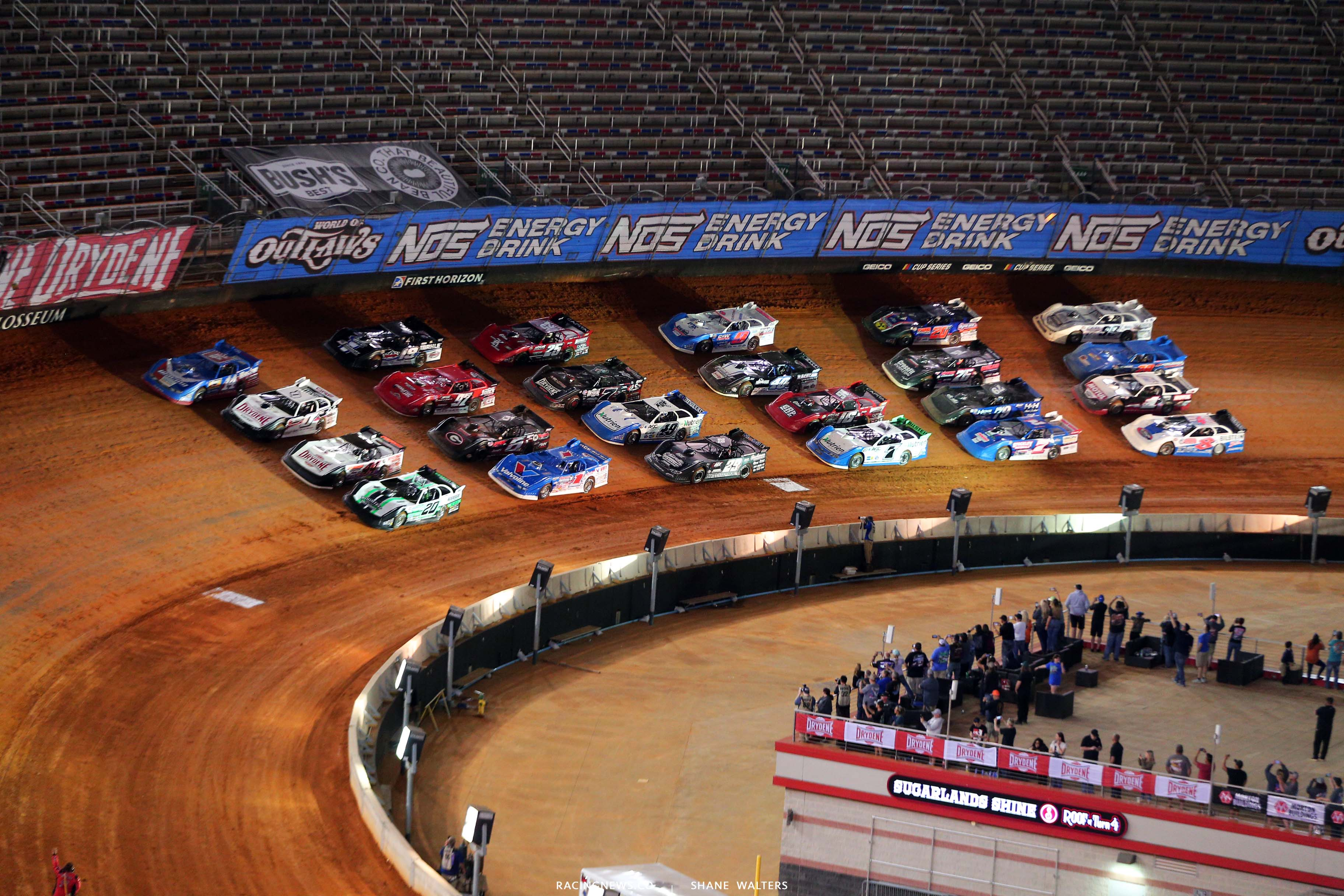 World of Outlaws Late Model Dirt Series - Bristol Dirt Track 3659