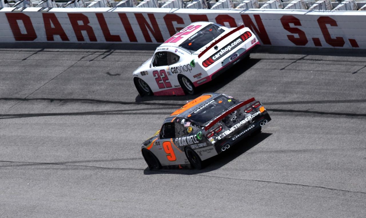 Austin Cindric, Noah Gragson - Darlington Raceway - NASCAR Xfinity Series