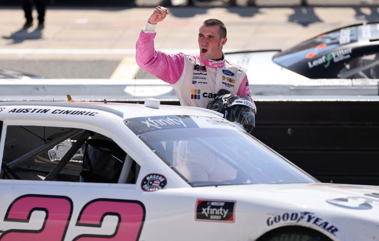 Austin Cindric wins - NASCAR Xfinity Series - Dover International Speedway