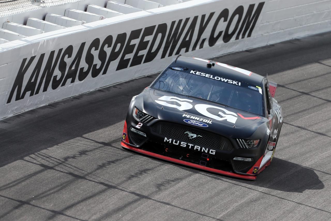 Brad Keselowski - Kansas Speedway - NASCAR Cup Series