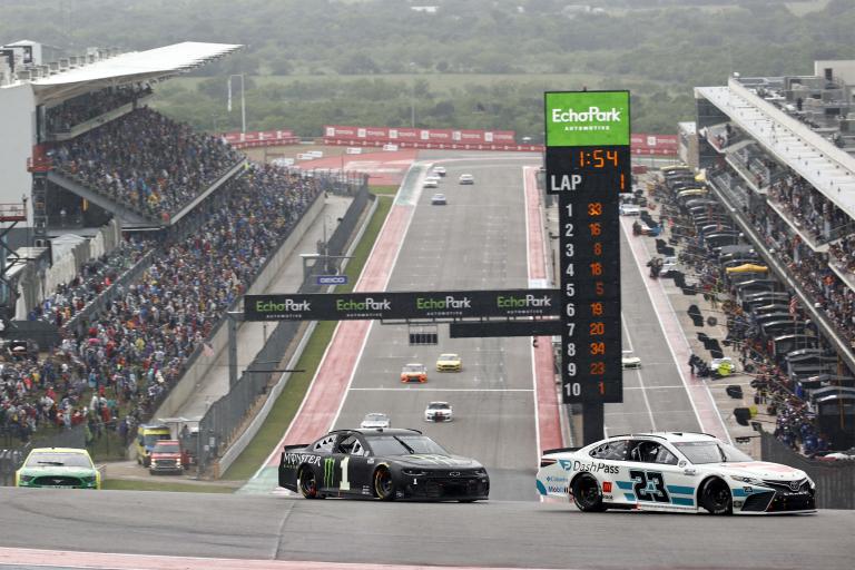 Bubba Wallace, Kurt Busch - Circuit of the Americas - COTA - NASCAR Cup Series