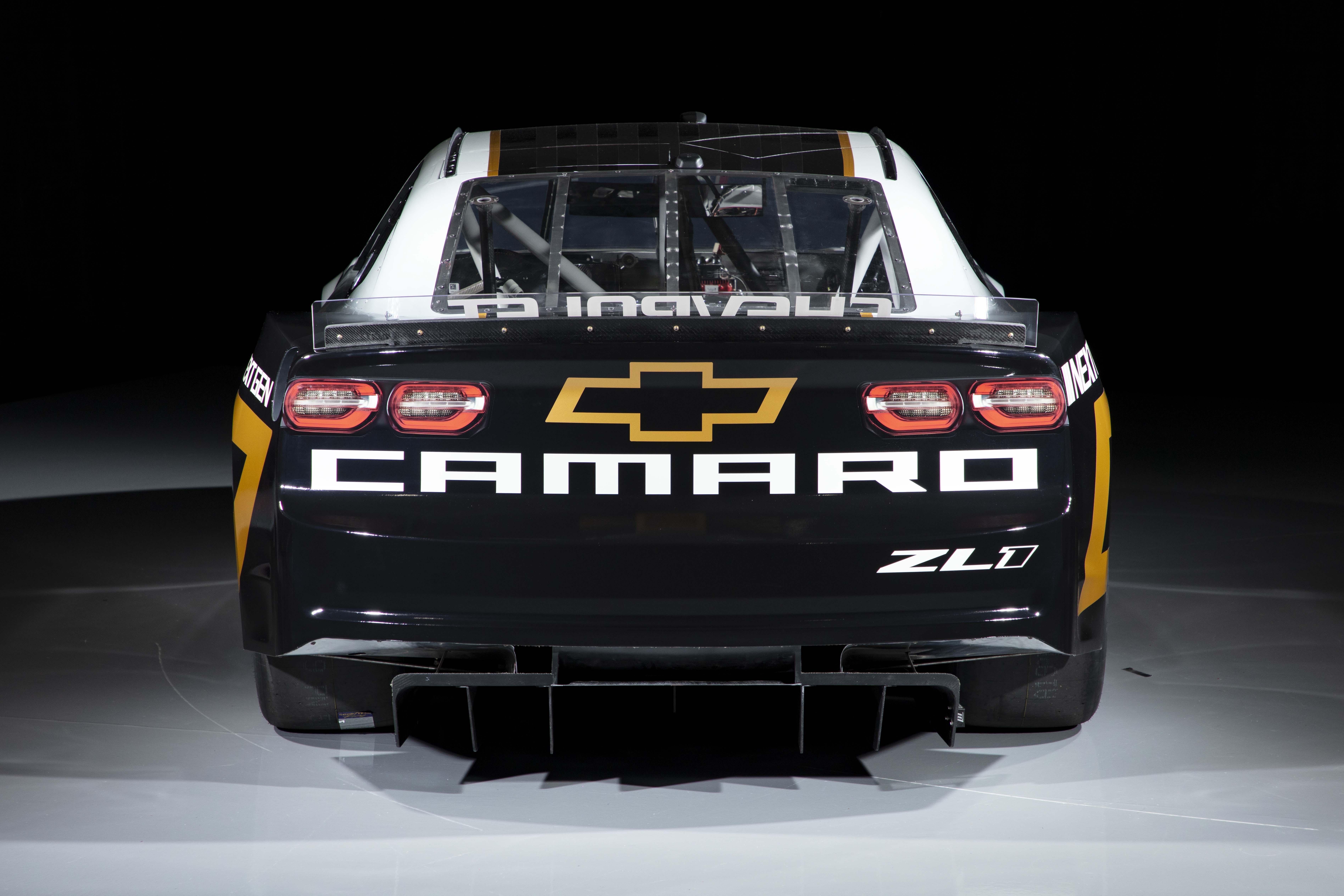 Chevrolet Camaro - 2022 Next Gen Car - Rear Photo