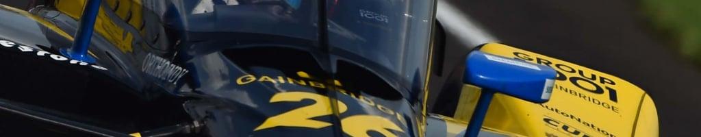 Indy 500 photo op causes practice crash (Video)