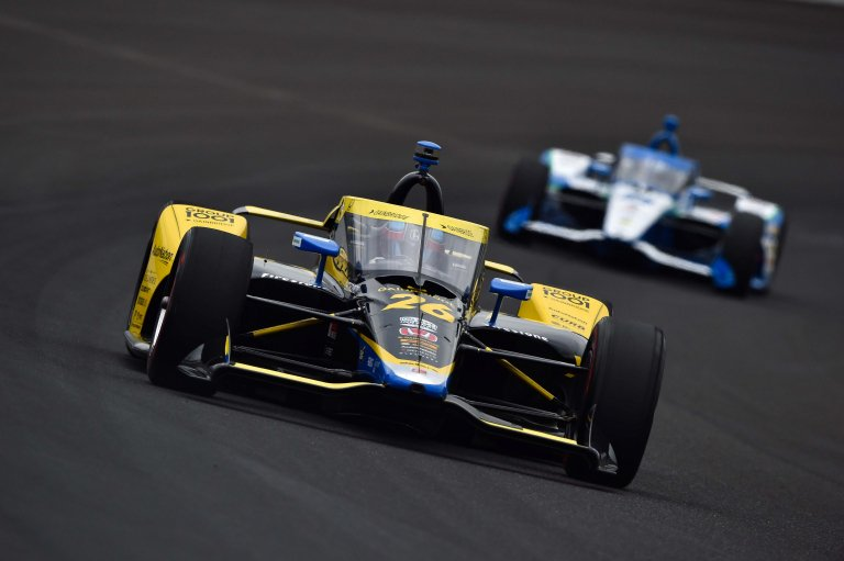 Colton Herta - Indy 500 - Indianapolis Motor Speedway - Indycar Series