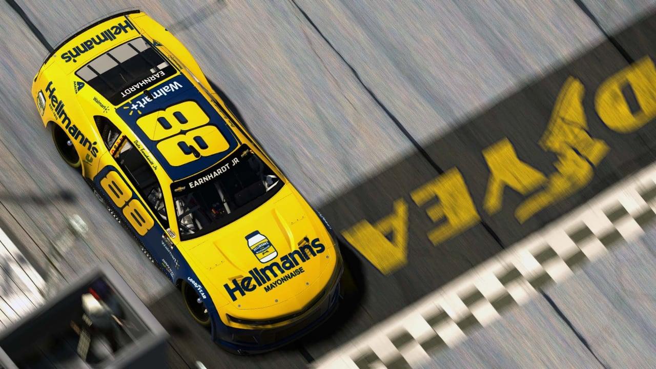 Dale Earnhardt Jr - eNASCAR iRacing Pro Invitational - Darlington Raceway