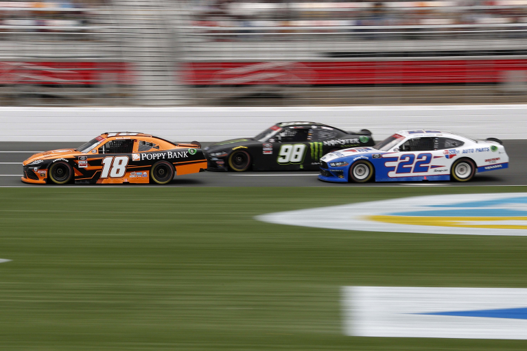 Daniel Hemric, Riley Herbst, Austin Cindric - Charlotte Motor Speedway - NASCAR Xfinity Series
