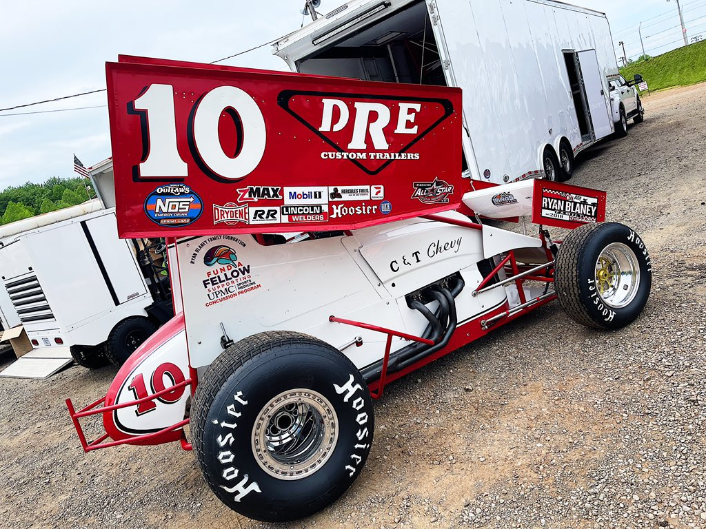 Dave Blaney - Dirt Sprint Car - World of Outlaws