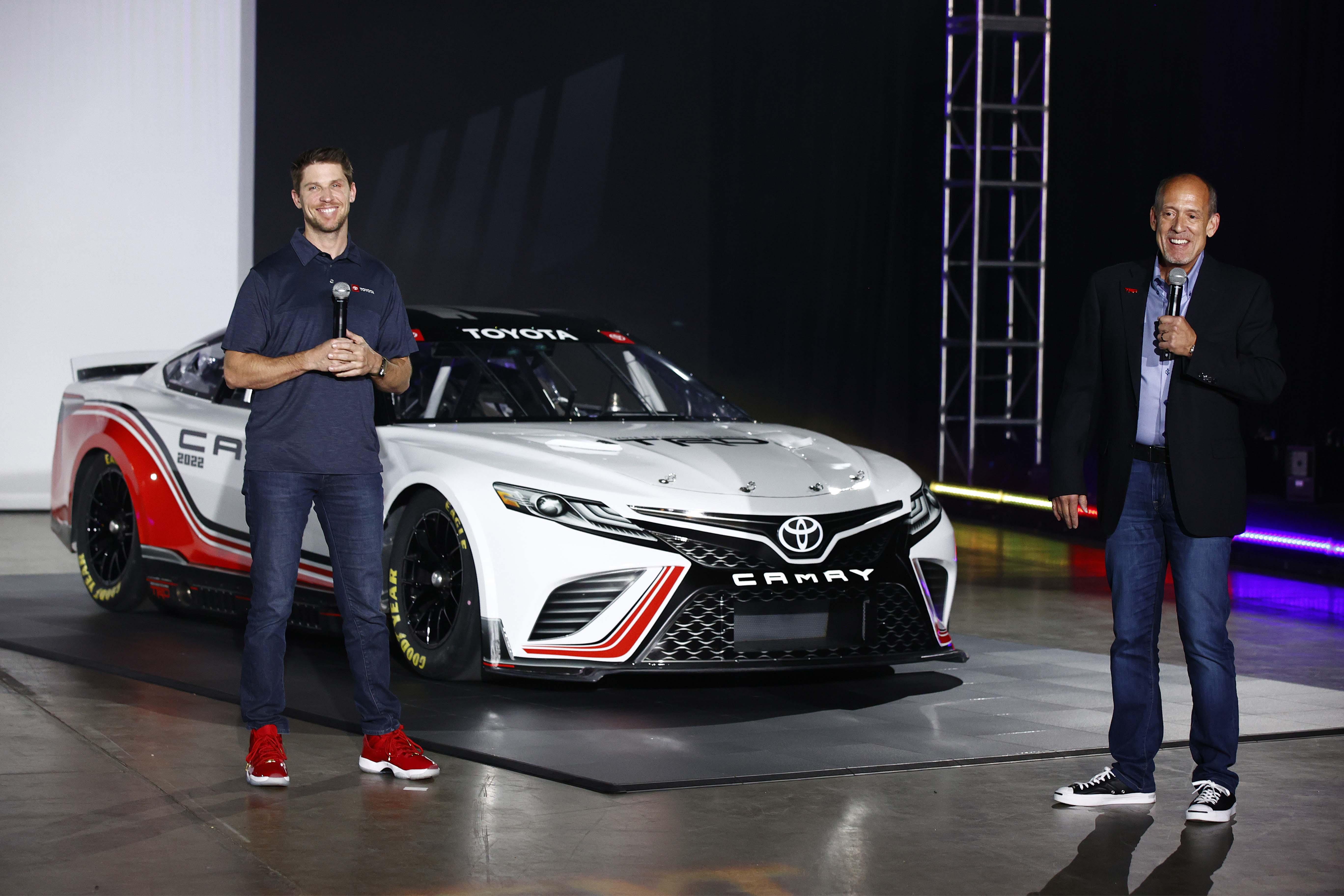Denny Hamlin and Toyota David Wilson - NASCAR Next Gen