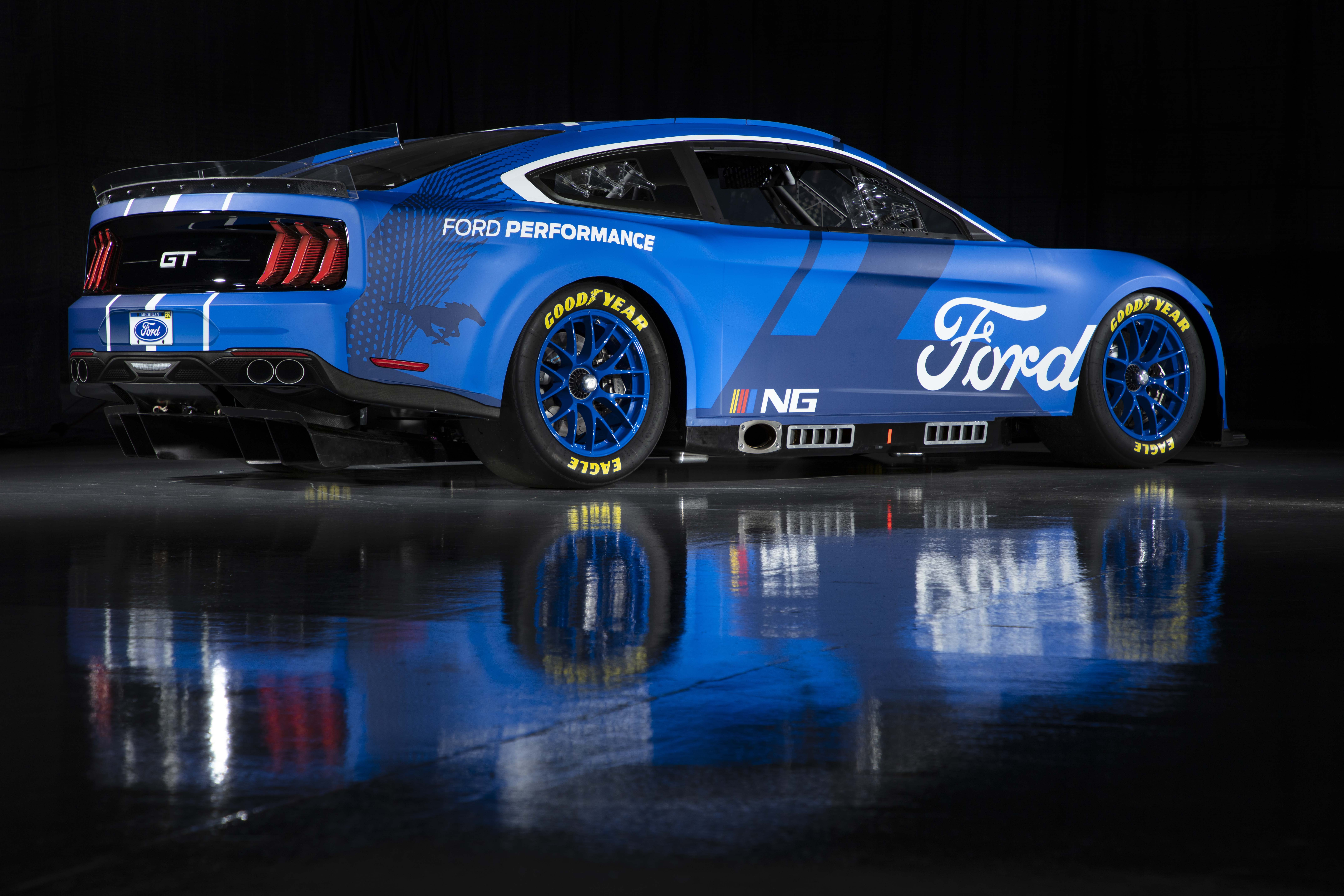 Ford Mustang - 2022 Next Gen Car - Side Photo