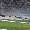 Indycar crash at Texas Motor Speedway - Conor Daly flip