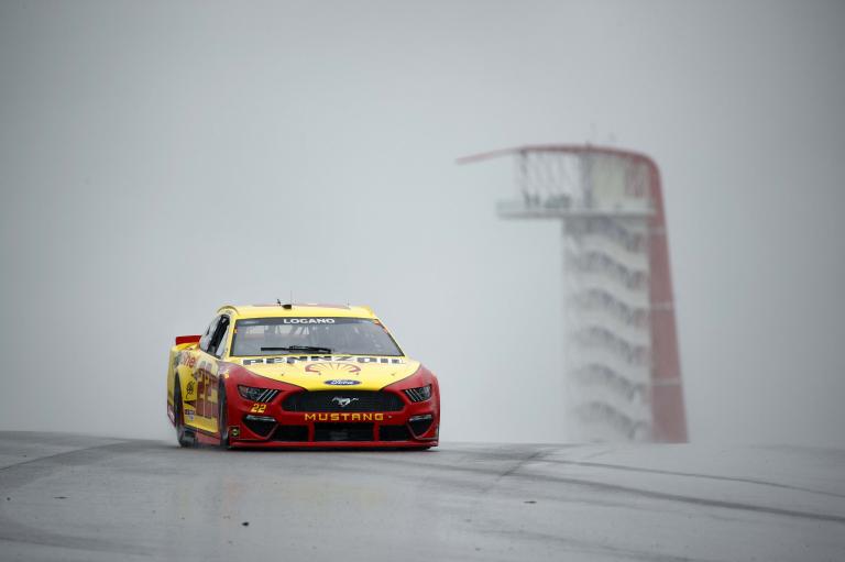Joey Logano - Circuit of the Americas - COTA - NASCAR Cup Series - Rain Racing