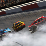 Joey Logano crash - eNASCAR iRacing Pro Invitational - Darlington Raceway