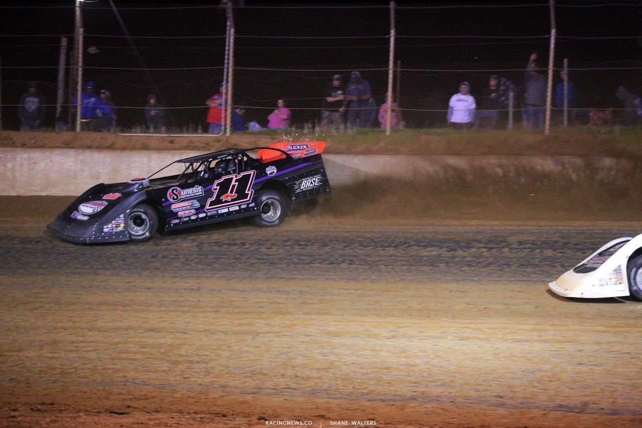 Josh Rice at Florence Speedway - Dirt Track Racing - Lucas Oil Late Model Dirt Series 5564