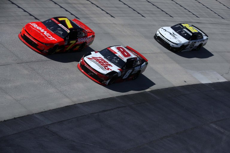 Justin Allgaier, Josh Berry - Dover International Speedway - NASCAR Xfinity Series