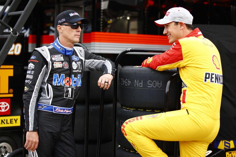 Kevin Harvick, Joey Logano - NASCAR drivers